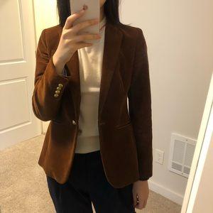J crew brown blazer
